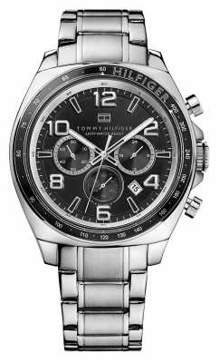 Tommy Hilfiger Mens Colton All Steel Chronograph 1790939