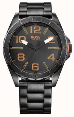 Hugo Boss Orange Mens Berlin Gunmetal Grey Watch 1513001