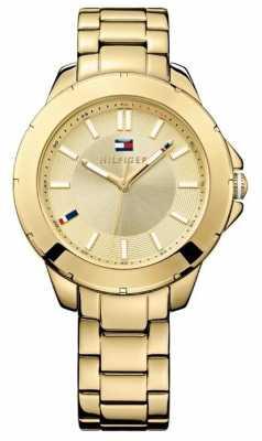 Tommy Hilfiger Ladies' Kimmie All Gold Steel Watch 1781413