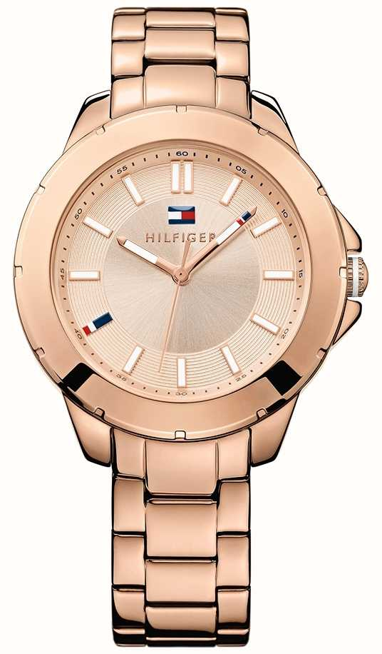 tommy hilfiger ladies rose gold kimmie watch 1781414 first class watches. Black Bedroom Furniture Sets. Home Design Ideas