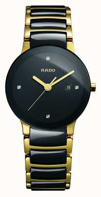Rado | Centrix Diamonds | High-Tech Ceramic | Black Dial | R30930712