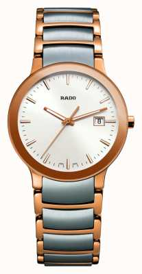 Rado Centrix Two-Tone Stainless Steel White Dial Watch R30555103
