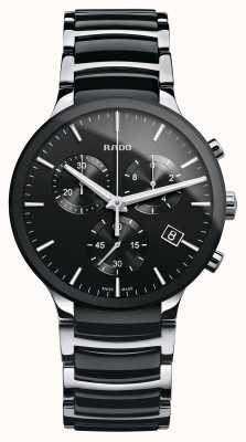 RADO Centrix Chronograph Black Ceramic Bracelet Watch R30130152