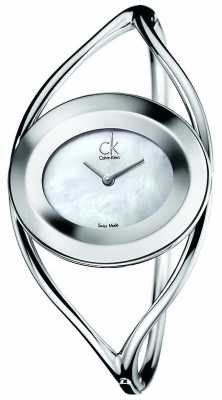 Calvin Klein Womens Delight, Pearl Dial (small) K1A2351G