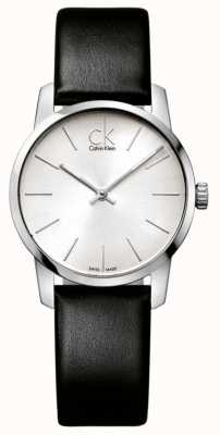 Calvin Klein Ladies' City watch Minimalist silver K2G231C6