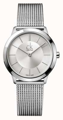 Calvin Klein Minimal Collection | Stainless Steel Mesh Strap | K3M22126