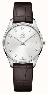 Calvin Klein Classic Leather Ladies Watch K4D221G6