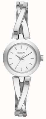 DKNY Ladies Crosswalk Silver Watch NY2169