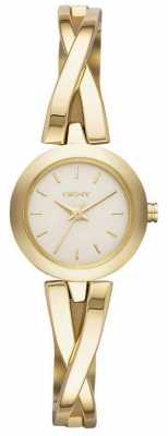 DKNY Ladies Crosswalk Gold Watch NY2170