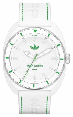 adidas Originals Unisex Stan Smith White Rubbe Strap ADH2931