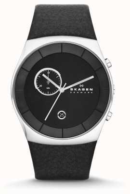 Skagen Mens Klassik Black Chronograph Watch SKW6070