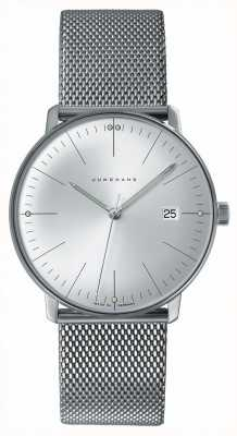 Junghans Mens Max Bill Stainless Steel Watch 041/4463.44
