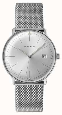 Junghans Men's Max Bill Stainless Steel Watch 041/4463.48