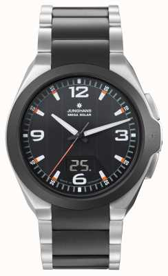 Junghans Mens Spektrum Mega Solar, Ceramic & Steel 018/1425.44