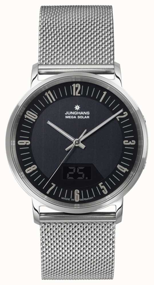 junghans milano mega solar 056 first class watches. Black Bedroom Furniture Sets. Home Design Ideas