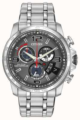 Citizen Chrono Time A-T Stainless Steel Mens BY0100-51H