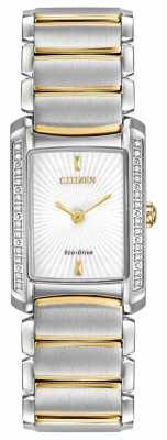 Citizen Euphoria Two-Tone Gold Plated Eco-Drive EG2964-56A
