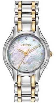 Citizen Womens Silhouette Diamond Watch EM0284-51D