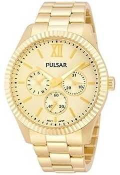 Pulsar Ladies' All Gold Tone Multi Function PP6128X1