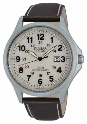 Pulsar Men's Solar Powered Strap Watch PX3007X1