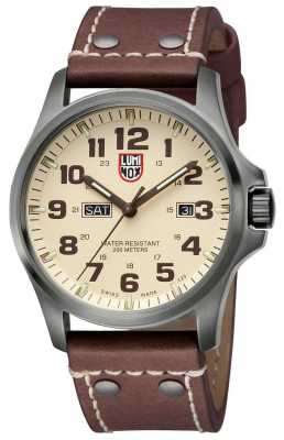 Luminox Atacama Field Day Date Gunmetal Watch 1927 A.1927