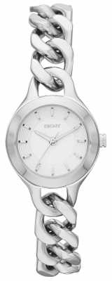 DKNY Ladies Chambers Silver Watch NY2212