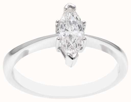 18k White Gold 0.52 ct Diamond Ring FCD00404