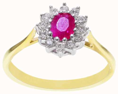 Ruby and Diamond Ring DRR138 FC00431