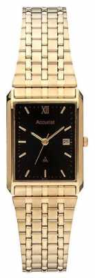 Accurist Gold Plated Bracelet Watch MB862