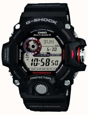 Casio Mens Rangeman Radio Controlled G-Shock GW-9400-1ER