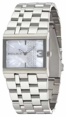 Police Glamour Square Women's Quartz Watch 10501BS/28MA
