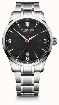 Victorinox Swiss Army Mens Alliance Auto Stainless Steel Black Dial 241669