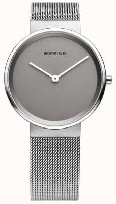 Bering Mens classic, Mesh, Grey Dial Watch 14539-077