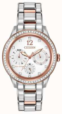 Citizen Womens Silhouette Crystal Watch FD2016-51A