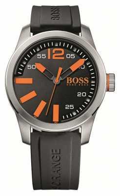 Hugo Boss Orange Mens Black Dial Watch With Orange Accents 1513059