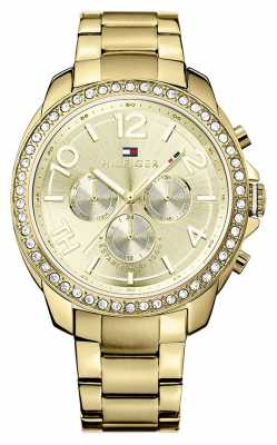 Tommy Hilfiger Serena Gold Tone Multi Function Watch 1781465