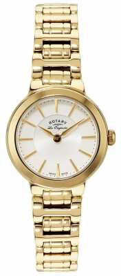 Rotary Les Originales Gold Watch LB90084/02