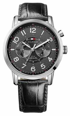 Tommy Hilfiger Mens Calan Multi Eye Watch With Black Dial 1791083