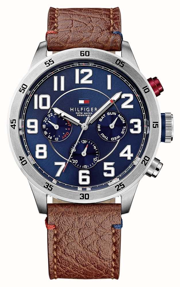 c3f5c61a Tommy Hilfiger Mens Trent Multi Function Watch 1791066 - First Class ...