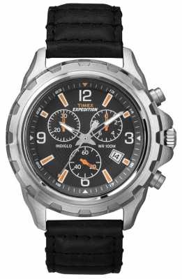 Timex Men's Indiglo Expedition Rugged Chronograph T49985