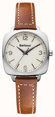 Barbour Chapton Brown Leather Strap Watch BB003SLTN