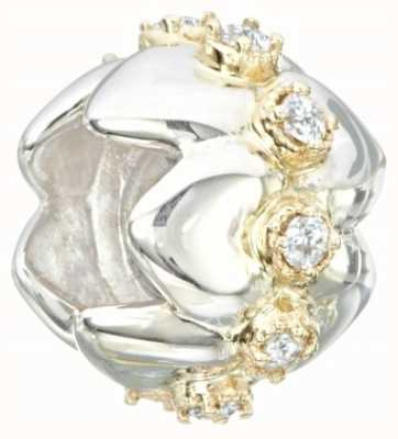 Chamilia Sterling Silver/14K & Stones - Chamilia Brilliance Tiara Nested Hearts - Swarovski Zirconia 2230-0018