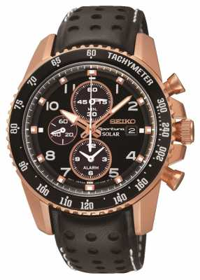 Seiko Sportura Solar Chronograph Mens - seen on TV SSC274P9