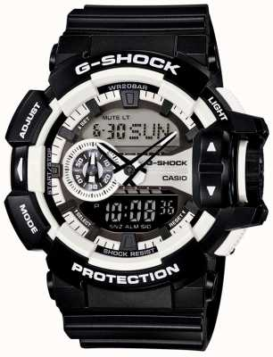 Casio Mens G-Shock Black Watch Bluetooth GA-400-1AER