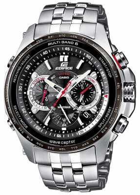 Casio Mens Chronograph Watch EQW-T620DB-1AER
