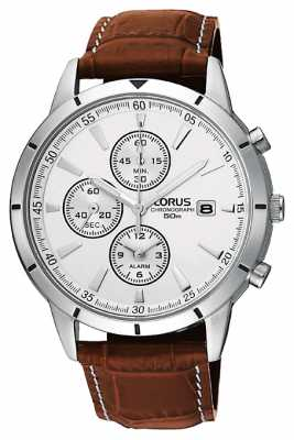 Lorus Men's Chronograph Alarm Strap Watch RF325BX9