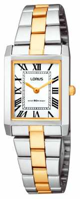 Lorus Ladies' Classic Square Bracelet Watch RTA03AX9