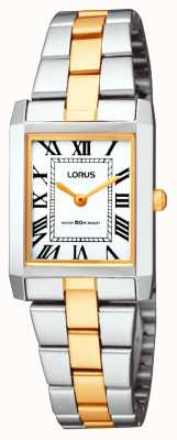 Lorus Ladies' Classic Square Bracelet Watch RTA03AX9