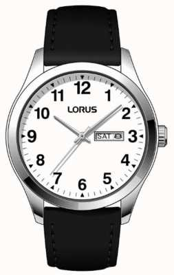 Lorus Mens Classic White Face Quartz Watch RJ643AX9