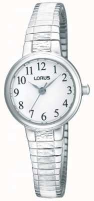 Lorus Women's' Steel Expander Bracelet Watch RG239NX9